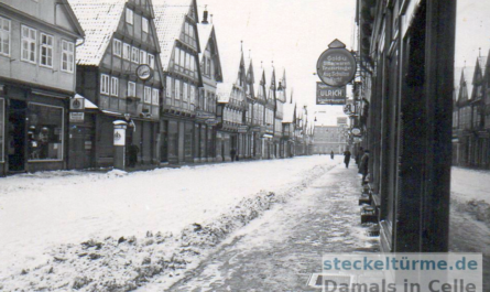 Zöllnerstraße im verschneiten Winter 1939